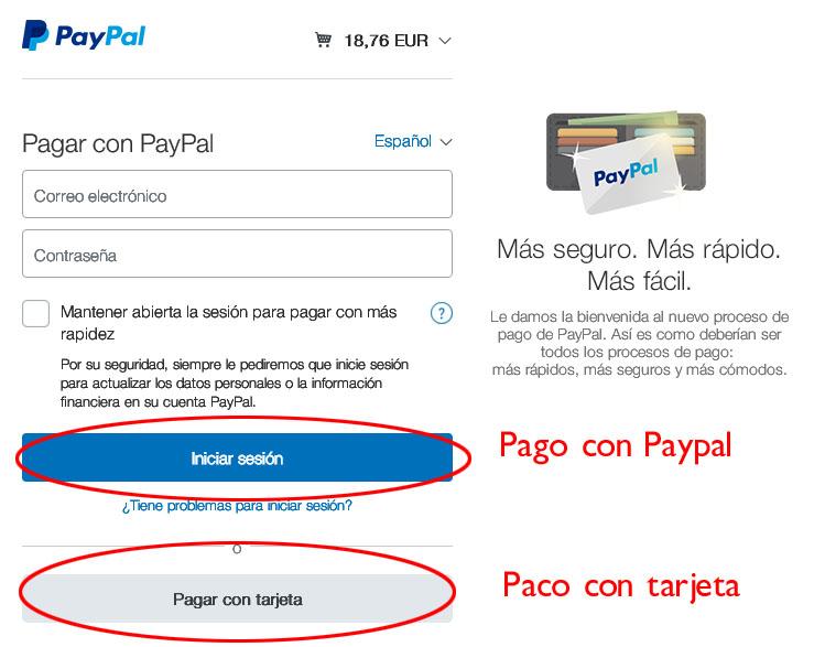 como pagar en la web 2